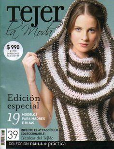 Photo: Source by Knitting Books, Crochet Books, Loom Knitting, Crochet Yarn, Crochet Stitches, Knitting Designs, Knitting Patterns, Crochet Patterns, Crochet Ideas