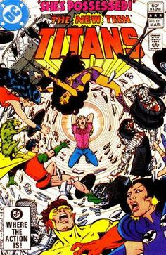 New Teen Titans #17 (1982) first appearance of Magenta