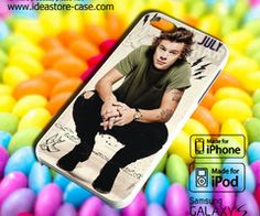 1D Harry Styles Case for iPhone 4/4S/5/5S/5C by hamamerajarela