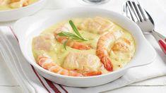 Chers amoureux des produits de la mer, dégustez ce superbe ragoût de la mer aux crevettes-saumon et riz sauvage pour assouvir vos pires pulsions culinaires. Thai Red Curry, Soup, Ethnic Recipes, Shrimp Stew, Fish Stew, Pisces, Wild Rice, Cooking Recipes, Soups