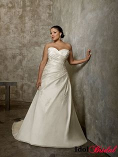 1000 images about wedding dresses fuller figure on for Wedding dresses for larger figures
