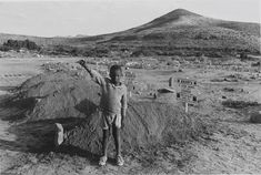 David Goldblatt, 'The salute of the banned African National Congress at the graves of four assassinated black community leaders', Cradock, E.