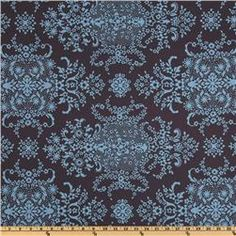 Amy Butler Home Décor Soul Blossoms Twill Bliss English Garden Bluestone  Item Number: DT-073  Our Price: $14.98 per Yard