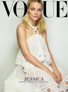 Jessica Stam For Vogue Turkey March 2015