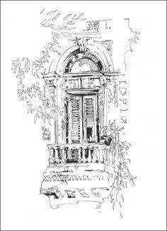 Urban Sketchers: Marc Holmes