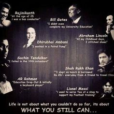 Let's start the day with some inspirational words from some of the well-known personalities across the globe. Tell us who is your idol and which thought you like most? Quotes By Famous People, Famous Quotes, Best Quotes, Love Quotes, Wise Sayings, Awesome Quotes, Quotes Quotes, Favorite Quotes, Never Back Down