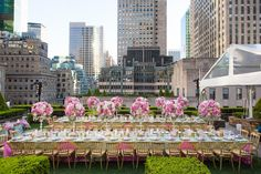 Photography Roey Yohai Read More Http Www Insideweddings Weddings Beautiful Rooftop Rehearsal Dinner Overlooking New York City 549