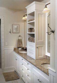 Custom Bathroom Vanity  www.benchmarkwoodstudio.com