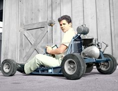 Tony Dow and his Go Kart Poster by MyGenerationShop on Etsy