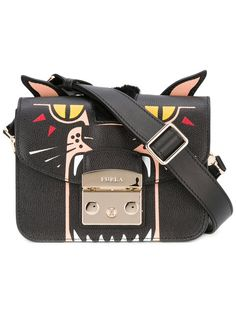 FURLA 'Metropolis' Jungle Mini Crossbody. #furla #bags #shoulder bags #leather #crossbody #