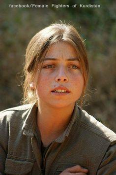 A beautiful Kurdish girl