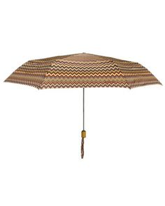Missoni umbrella.  Who knew an umbrella could be so fashionable?
