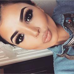 Imagem de makeup, fashion, and girl