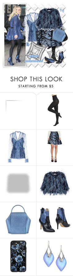"""""""Carrie Underwood ~ Sassy Blues"""" by pwhiteaurora ❤ liked on Polyvore featuring Hue, Emilio Pucci, Genny, Shabby Chic, Mary Katrantzou, Jan Pierre, Casetify and Alexis Bittar"""
