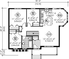 Cabin Floor Plans on 32x32 building plans