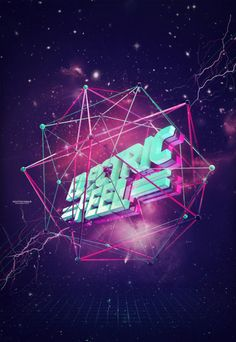 #3D #graphic #graphicdesign   Electric Feel by Sebastian Andaur