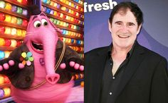 """Inside Out's imaginary friend--equal parts cotton candy, elephant, kitten, and dolphin--has become the film's breakout star.Actor Richard Kind, 58, plays the sweet pal, and spoke to EW abouthis signature song (""""Who's your friend that loves to play? Bing Bong! Bing Bong!), performing through tears and stealing the show."""
