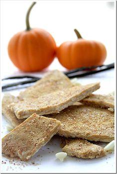 white chocolate pumpkin pie bark