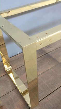 See quality of brass craftmanship by Balasagun Iron Furniture, Steel Furniture, Home Decor Furniture, Furniture Design, Brass Furniture Legs, Metal Table Legs, Dining Table Legs, Dining Table Design, Brass Coffee Table