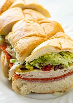 Pepperoni Sandwich, Hoagie Sandwiches, Salami Sandwich, Picnic Sandwiches, Turkey Pepperoni, Turkey Sandwiches, Wrap Sandwiches, Sandwich Recipes, Banana Sandwich