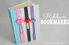 Ribbon Bookmarks via @christieselken