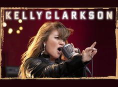 Kelly Clarkson.  FINALLY get to see her in concert.  So excited!
