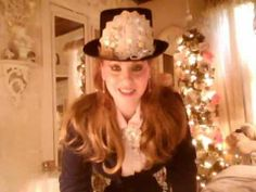 A look with New Creations & Tophat,everything thrifted & created!!
