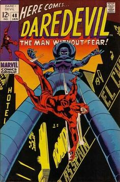 Daredevil #48 - Farewell To Foggy! (Issue)