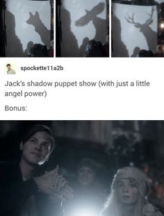 Jack being an absolutely sweet pure soul and entertaining the children in the AU because he genuinely loves making other people happy, 13x14 Good Intentions