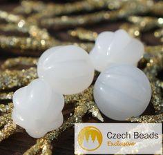 ✔ What's Hot Today: Opaque Milky White Melon Beads Czech Glass Melon Beads Glass Fruit Beads Melon Glass Beads Czech Melon Beads 10mm x 8mm 8pc https://czechbeadsexclusive.com/product/opaque-milky-white-melon-beads-czech-glass-melon-beads-glass-fruit-beads-melon-glass-beads-czech-melon-beads-10mm-x-8mm-8pc/?utm_source=PN&utm_medium=czechbeads&utm_campaign=SNAP #CzechBeadsExclusive #czechbeads #glassbeads #bead #beaded #beading #beadedjewelry #handmade