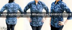 Take your summer look a notch higher with this Navy Blue Green Printed Cotton Shirts from Reet Glamour. The interesting print of this shirt make it visually appealing. Ensuring good comfort and smoothness is the 100 % cotton fabric of this shirt. You can team this shirt with a pair of pants and wedges to look.  For more details whatsapp us: +919915178418