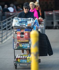 Mitt Romney and his wife Ann were pictured shopping at their local bulk warehouse Costco near their home in La Jolla