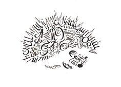 """Работы студентов по дисциплине """"Классическая каллиграфия"""", 2015 #Romashin_Design_School"""