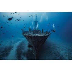 "World Menagerie Hai Siang Wreck Photographic Print on Wrapped Canvas Size: 18"" H x 26"" W x 0.75"" D"