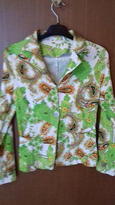 Vintage 80s  Women Jacket coat suit jacket beautiful women
