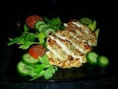 Crispy Healthy Parmesan Chicken