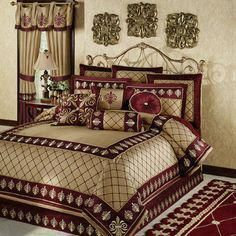 Maroon wall paint ideas burgundy bedroom ideas maroon and grey bedroom bedroom ideas maroon walls living room what color goes maroon wall color ideas Burgundy Bedroom, Gold Bedroom, Maroon Walls, Bedroom Furniture, Bedroom Decor, Bedroom Ideas, Bedroom Designs, Luxury Bedroom Design, Red Bedding