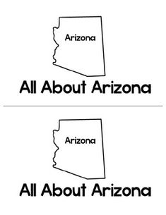 Large, Printable Arizona State Flag to color, from