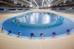 Hopkins Architects' Velodrome, built for the 2012 Olympic Games.