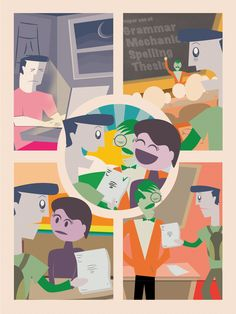 """""""The Narrative"""" A recent poster I created for a writing lab conference."""