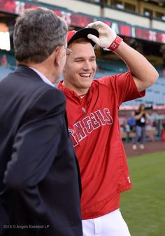 Mike Trout, nice smile
