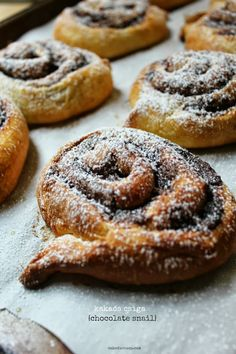 foodwanderings: Baking with Heritage: Kakaós Csiga {Chocolate Snails} by Cake Duchess