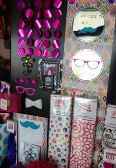 New Locker Decor includes Bling curtain, magnet mirrors and glitter magnets of mustache and sunglasses, 4 New Wallpaper designs, magnetic dry erase and flower hooks and the list goes on.