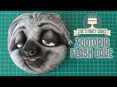 Zootopia cake Flash the sloth Zootropolis - YouTube