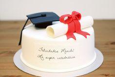 tarta de graduación