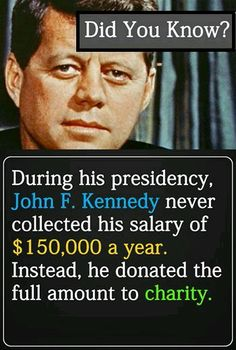 JFK - gotta love this guy!
