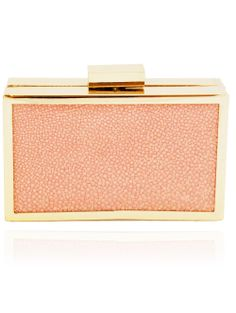 Rachael Ruddick's Quartz Stingray Le Chou Clutch $370