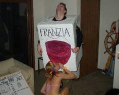 Wine box costume - haha! Maybe next year?!
