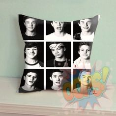 "Magcon Boys Photo Box - Pillow Case 18"" x 18"" inches - Only Pillow Cover by Oopsss on Etsy"