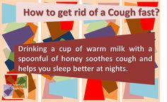 how to get rid of tickly cough fast